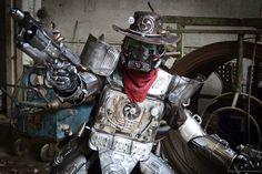 Armored Gunslinger (1) by Zilochius.deviantart.com on @DeviantArt