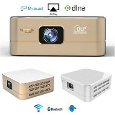 (168.32$)  Watch now - http://aiyzj.worlditems.win/all/product.php?id=32793307397 - Leegoal P96 Mini LED Projector WIFI Bluetooth Portable Wireless HDMI HD 100 Lumen Pico Home Theater Best Video Projector Android