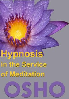 Hypnosis in the Service of Meditation (OSHO Singles) Osho Books, Osho Meditation, Hypnosis Scripts, Psychology Books, Reading Online, Books To Read, Author, Science, Amazon