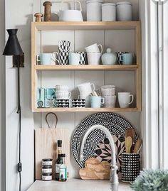 Accessorising a kitchen Scandinavian style