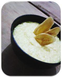 Garfo Publicitário   Adicione Publicidade e Pronto!: Purê de Batata Doce Com Cream Cheese