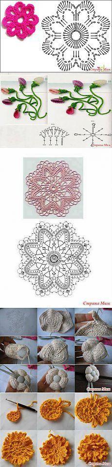 Rosas de Crochê. / Rose Crochet.