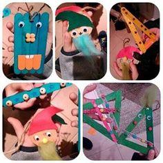 No sábado foi assim… Estes são algumas das decorações de Natal que os mais pequenos fizeram no mini workshop de Natal .. Eu acho que ficaram lindas