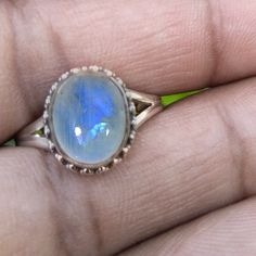 Blue Lapis Lazuli ring size 8 12 navy natural big Lazurite gemstone spiritual silver gothic jewellery statement jewelry witch finger