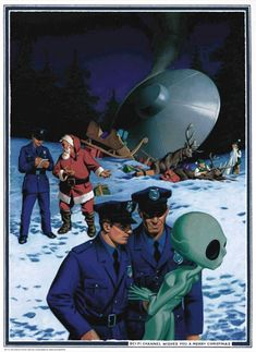 Sci-Fi Channel wishes you a Merry Christmas.