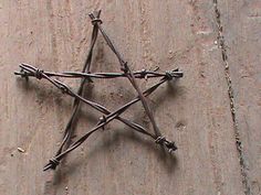 4 Rusty Barbed Wire Stars Hand Crafted | eBay