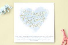 From The Very Start Baby Shower Invitations by Baumbirdy at minted.com