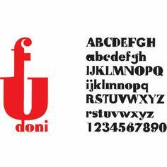 Fudoni Font,Max Kisman (1991) Mélange Futura et Bodoni différentes graisses dans une même lettre. N'empêche pas la lisibilité, système cohérent.