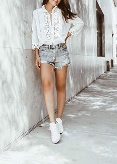 350 Coolest Summer Outfits Ideas For Womens Girls Latest Summer Fashion, Summer Fashion For Teens, Summer Fashion Trends, Stylish Summer Outfits, Comfortable Outfits, Girl Outfits, Cute Outfits, Fashion Outfits, Fashion Styles