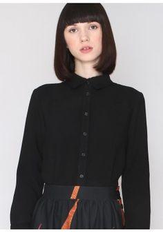 Camisa Casandra negra