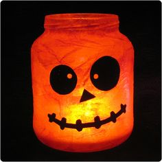 Halloween Luminaries; I can see making these for any holiday or ocassion