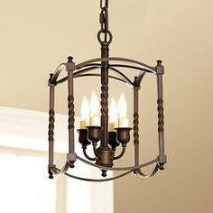 Carriage House Chandelier - Small traditional chandeliers