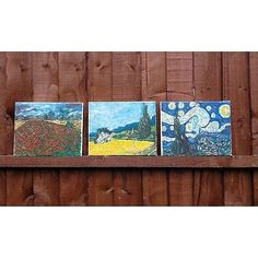 Van Gogh inspiration mini landscape original oil paintings set Oil Paintings, Landscape Paintings, Van Gogh Landscapes, List Of Artists, Worlds Largest, Mini, Inspiration, Ebay, Biblical Inspiration