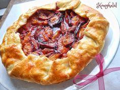 szilvás galette Hungarian Recipes, Quiche, Pie, Baking Ideas, Food, Torte, Cake, Fruit Cakes, Essen