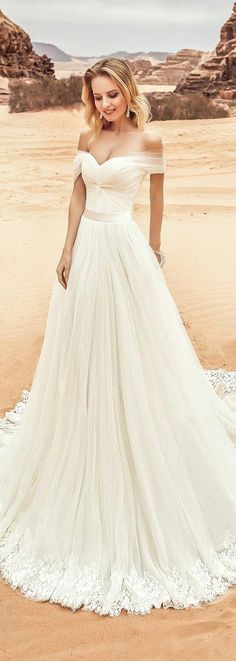 White wedding Dress #weddingdress