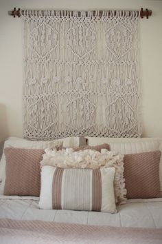 Macrame Wall Hanging by SeeShellsDesign on Etsy   #macrame #art #etsy
