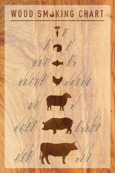 Stepping into the world of smoking meat can feel like entering a large and mysterious forest. Literally. There's wood everywhere and it's easy to get lost. What's alder wood? Is mesquite too strong for poultry? Is maple as sweet as it sounds? Luckily we made this handy wood smoking chart to serve as your compass while you travel on your smoky journey. | Char-Broil