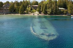 Tobermory boat under water. Tobermory boat under the water , Backpacking Canada, Canada Travel, Manitoulin Island, Canada Holiday, Visit Canada, Canada Eh, Best Scuba Diving, Small Towns, Places