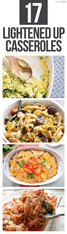 17 healthy casserole dishes.