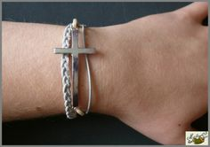 Bracelet multi-rangs par Maïlys07.