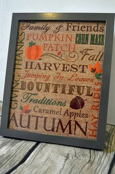 10 Fall Printables