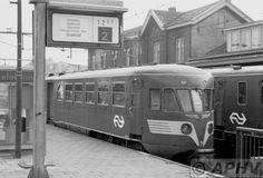 NS DE1 at Heerlen 22 December 1979