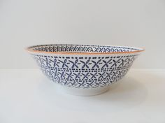 Large Graphic Ceramic Bowls // £15 // Available in our Lewes shop now