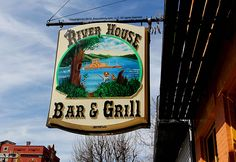 River House Bar & Grill in Vevay, Indiana.