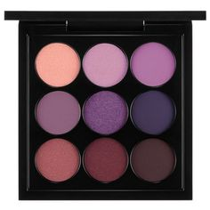 Mac Purple      Times Nine Eye Shadow X 9 ($32) ❤ liked on Polyvore featuring beauty products, makeup, eye makeup, eyeshadow, beauty, eyes, fillers, purple times nine, mac cosmetics and mac cosmetics eyeshadow