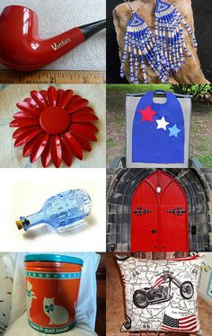 Red, White and Blue... by Debra Young on Etsy--Pinned with TreasuryPin.com