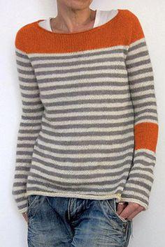 C/&H Womens Loose Top Crew Neck Pullover Contrast Sweatshirt