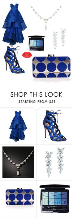 """Untitled #6"" by amberharvey2000 ❤ liked on Polyvore featuring Nedret Taciroglu Couture, ALDO, Tiffany & Co., Manolo Blahnik, Christian Dior and Lime Crime"