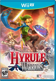 Zelda Hyrule Warriors official box art - Release September 26th only for #WiiU  Yay new Zelda Game!!! Now I just.. need a WiiU. *cries*