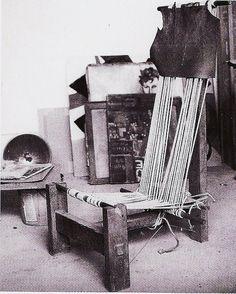 Alexander Calder - chair from his studio