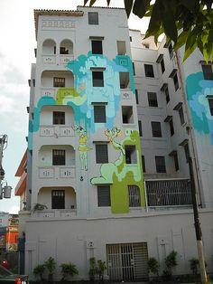 [Graphopoli] Sofia Maldonado - Edificio La Torre @ Rio Piedras, Puerto Rico | Flickr - Photo Sharing!