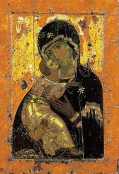 «Владимирская» икона Божией Матери.
