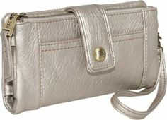 Practical luxury is right here with Relic s women s wallet hand bag. Several interior and exterior pockets keep all your cards, money, receipts and checkbook in order while remaining small, manageable and super chic.