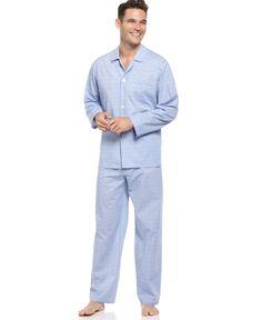 a7508ad1f4 Club Room Men s Shirt and Pants Pajama Set Mens Nightshirts
