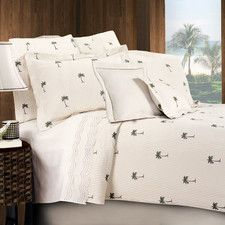 The Palm Coverlet Collection