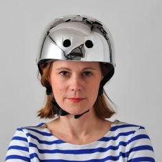 #bobbinhelmetchrome #cyclechic #bobbinbicycles get this from cyclechic.co.uk