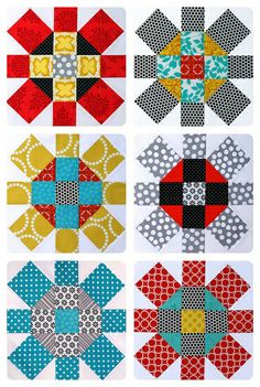 One of my favorite quilt blocks-- by Red Pepper Quilts