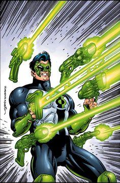 Green Lantern by Dan Jurgens, Terry Austin, Richard Horie, Tanya Horie