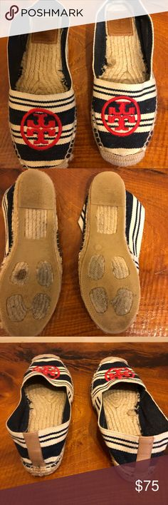 1014e20b3 Tory Burch espadrilles Red white and blue Tory Burch espadrilles size 7 Tory  Burch Shoes Espadrilles