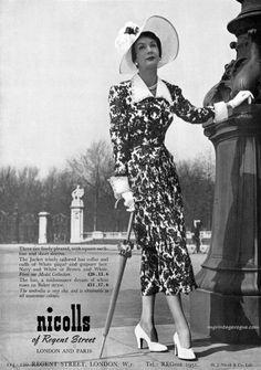 Barbara Goalen - Nicolls of Regent Street 1949
