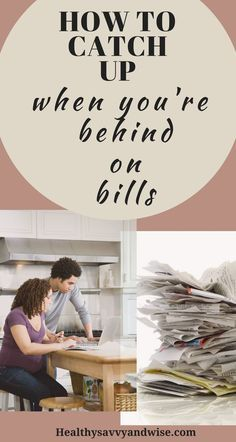 There's nothing more stressful than being behind on bills. Here are 10 actionable steps to take for immediate financial help and to get your budget back on track. Car loan help. Mortgage payment help. Saving more, budgeting better, and spending less to catch up on payments and get out of debt. #behindonbills #savemoney #budget #helpwithbills