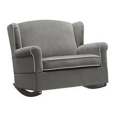 Baby Relax Lainey Wingback Chair & Half Rocker & Reviews   Wayfair
