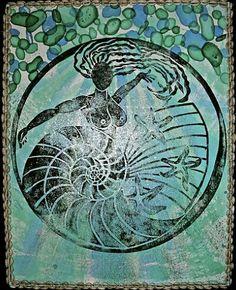 Yemanja, Orixa of the ocean byGinga & Helen Dos Santos