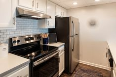 Alexandria VA apartments just ten minutes outside of downtown DC. Apartment Communities, Delicious Dishes, Luxury Apartments, Alexandria, Kitchen Cabinets, Cook, Dining, Home Decor, Kitchen Cupboards