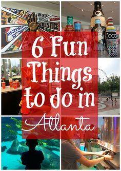 6 Fun things to do in Atlanta