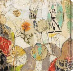 Judy Paul - Garden #garden #abstract #art #judypaul